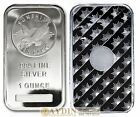 1 Troy Ounce Sunshine Minting Silver Bar 1 Troy Oz 999 Fine Silver Sealed