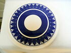 VTG SCHRAMBERG MARIELLE SMF German Pottery CHARGER PLATE TRAY Germany art deco