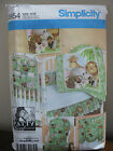 Simplicity # 3954 Pattern  PATTY REED DESIGNS NURSERY ACCESSORIES  UNCUT
