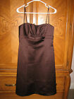 David's Bridal Brown Dress Size 8 (9740)