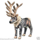 Plush Elk Mossy Oak Camo Elk Stuffed Animal Plush WildLife Artists Camo Bull Elk
