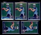 2011 Topps Chrome #185A Jake Locker RC passing the football Lot of 5 B76588