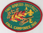 M-3860 1981 TWO RIVERS DISTRICT FALL CAMPOREE
