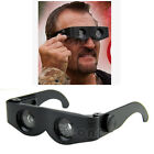 Portable Glasses Style Magnifier Binoculars Telescope For Fishing Hiking Concert