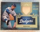 Sandy Koufax 399 2011 Topps Tier One Shelf 1 Game Used Jersey Patch Dodgers HOF