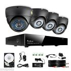 Funlux 960H 4CH DVR Network Outdoor Security Camera System Remote View 500GB