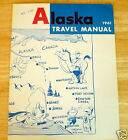 1961 ALASKA TRAVEL MANUAL , 40 PAGES GREAT ADVERTISEMENTS PICTURES
