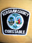 SOUTH CAROLINA POLICE PATCHES  KERSHAW COUNTY CONSTABLE