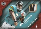Byron Leftwich 2005 Upper Deck UD 3 Color Game Used Jersey Patch #GJP-BL