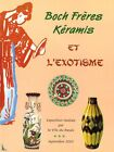 Boch Freres Keramis and the exotism book