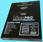 100 ULTRA PRO PLATINUM 15 POCKET Tobacco Card Pages 1.5x3.25