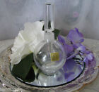 Vintage Clear Crystal  Perfume Decanter Made In Japan