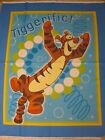 Tigger Boing Bounce 5 Panel Quilt Fabric Disney Springs blue cotton sew tiger n