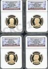 2013 S PRESIDENTIAL DOLLAR SET EARLY RELEASES NGC PF70 ULTRA CAMEO