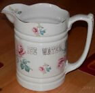 Royal Crownford Ironstone Memory Rose Large Ice Water Pitcher