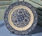 Antique Collectible Blue White Plate Hawthorn B.A.P. Co.