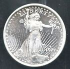 1927 D Saint Gaudens Design One Troy Ounce.999 Fine Silver Round