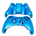 New Wireless Controller Shell Case Cover for Microsoft XBOX 360 Plating Blue