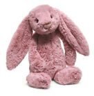 Jellycat Bashful Pink Tulip Bunny Medium 12 NWT