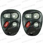 2 New Replacement Keyless Entry Remote Key Fob Clicker Transmitter for 10443537