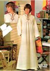BUTTERICK 4560 Vintage Misses' Caftan Dress Pattern SIZE 12 1970's W Transfers