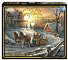 NEW White Mountain Puzzles Pleasures of Winter - 1000 Piece Jigsaw Puzzle