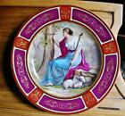 Vintage Royal Vienna Hand Painted Deep Plate/Lots of Gold/ Signed K.Weh/Bee Hive
