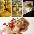 500 Sheets REAL GOLD LEAF 24k FACIAL MASK SPA GENUINE ANTI-AGING 1.30