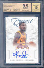 2012-13 panini crusade quest autograph #4 KYRIE IRVING rookie BGS 10 9.5 auto 10