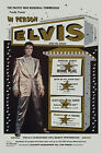 Early ROCK Elvis Presley  in a * Gold LaMay Jackst * Hawaii Concert Poster 1961