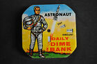 Astronaut Daily Dime Bank Vintage Exc+ - (1956) ITB WH