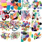 Lot of 40 Double Sided Mixed Bright Color Enamel  Silver Plated Assorted Charms