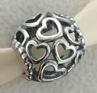 New Authentic Pandora Charm Sterling Open Your Heart 790964