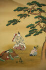 JAPANESE BIG HANGING SCROLL : YOSHIYUKI