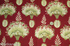 RJR Quilt Fabric One Yard BOWOOD HOUSE Robyn Pandolph Cotton NEW 2011 Red RARE