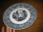 ANTIQUE 1845 IRONSTONE PLATE T.J.& JM MAYER RHONE
