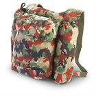 Swiss Army M70 ALPENFLAUGE CAM0  Backpack USED SWISS MILITARY SURPLUS CONDITION
