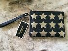 JUICY COUTURE Star Gold Black Wristlet Tech Wallet Phone NWT Pouch New