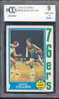 1974-75 topps #129 DOUG COLLINS 76ers rookie BGS BCCG 9