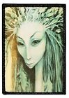 World of Froud Green Lady Fairy Goth New Badge Applique Patch P1712