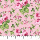 Sweet Jane Northcott Quilt Fabric 1 2 yard Pink Roses on Pink