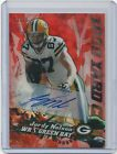 Jordy Nelson 2014 Topps Chrome Football AUTO Red Refractor 1k Club 75 Packers