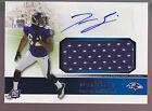 2011 Topps Precision Game Jersey Autograph Auto Torrey Smith RC Ravens Rookie