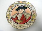 ROYAL DOULTON PORTRAIT PLATE THE MAYOR D6283 SERIESWARE Art Deco PROFESSIONALS