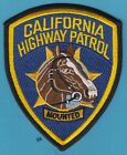 CALIFORNIA HIGHWAY PATROL MOUNTED POLICE SHOULDER PATCH