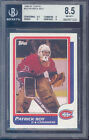 1986-87 topps #53 PATRICK ROY rc rookie BGS 9.5 8 9 9