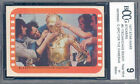 1977 star wars stickers #5 TECHNICIANS READY C-3PO FOR THE CAMERAS BGS BCCG 9