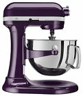 NEW KitchenAid 600 Capacity 6-Quart Pro Stand Mixer Kp26m1ppb Plum-Berry Purple