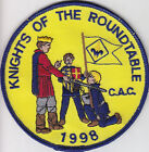 M-3161 CAC 1998 KNIGHTS OF THE ROUNDTABLE POCKET PATCH