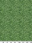 BTHY Quilting Quilt Fabric Free Way Vine Scroll Tonal Blender Olive Green Cotton